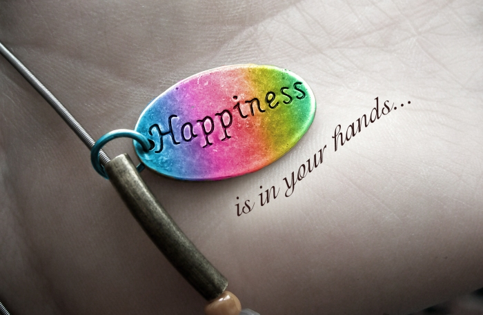 happiness is in your hands